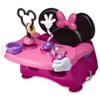 The First Years™ Disney® Minnie Mouse Feeding & Activity Seat in Pink/Black