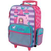 Stephen Joseph® Castle Rolling Luggage in Pink
