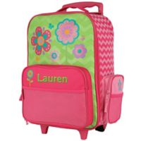 Stephen Joseph® Flower Rolling Luggage in Pink