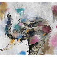 PTM Images Safari Graffiti I 38-Inch x 28-Inch Canvas Wall Art