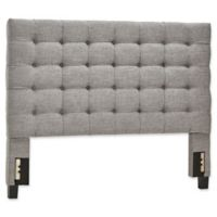 iNSPIRE Q® Patricia Button Tufted Full Headboard in Grey