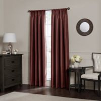 Emery 120-Inch Rod Pocket Insulated 100% Blackout Window Curtain Panel in Spice