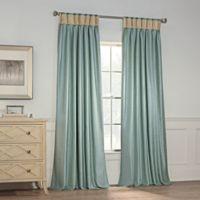 Milena 95-Inch Pinch Pleat Window Curtain Panel in Spa