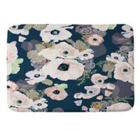 Deny Designs Howell Une Femme In Blue Small Memory Foam Bath Mat