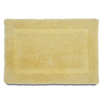 Nice Martex Ringspun Bath Rug In Lemon