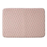 Deny Designs Howell Nina 24-Inch x 36-Inch Memory Foam Bath Mat in Grey