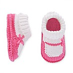 carter's® Newborn Mary Jane Crochet Knit Keepsake Booties in Pink