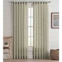 Lashire 63-Inch Rod Pocket Window Curtain Panel in Spa