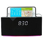 WITTI BEDDI Intelligent Alarm Clock with Smart Home Integration in Black