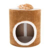 Petmaker Single Barrel Cat Condo in Brown/White