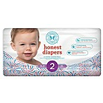 Honest Diapers 40-Count Size 2 Diapers in Le Firework Pattern