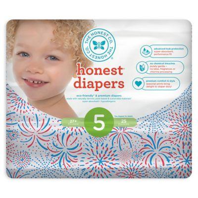 honest christmas diapers