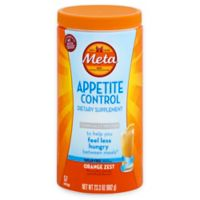 Metamucil® 23.3 oz. Meta Appetite Control Fiber Powder in Orange Zest