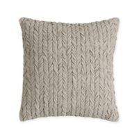 Bridge Street Sonnet 14-Inch Square Throw Pillow in Beige