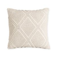Bridge Street Sonnet 18-Inch Square Throw Pillow in Beige