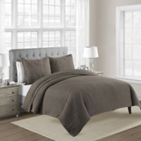 Bridge Street Lexington King Coverlet in Mocha
