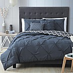 Madrid 5-Piece Queen Comforter Set in Charcoal