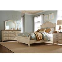 Palmetto Home Millbrook 4-Piece Queen Bedroom Set in Buttermilk