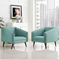 Modway Slide Armchairs in Laguna (Set of 2)