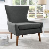 Modway Keen Upholstered Arm Chair in Grey