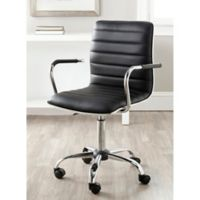 Safavieh Jonika Desk Chair in Black