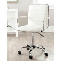 Safavieh Jonika Desk Chair in White