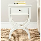 Safavieh Maxine 1-Drawer Night Table in White