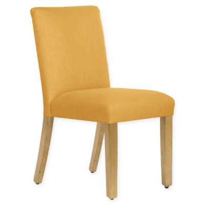 Skyline Furniture Becker Dining Chair In Linen French Yellow