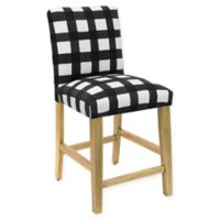 Skyline Furniture Becker Counter Stool in Buffalo Square Black