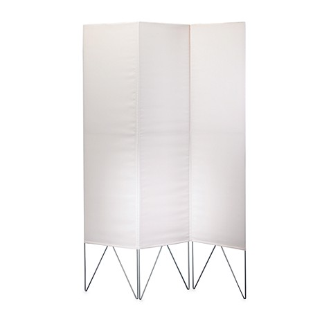 Vector Folding Screen in White
