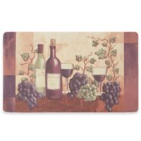 Chef Gear Cabernet Gelness 18-Inch x 30-Inch Anti-Fatigue Kitchen Mat in Purple