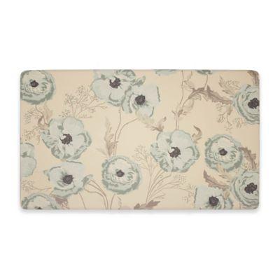 Laura Ashley® Poppy 32 Inch X 20 Inch Anti Fatigue Gel Kitchen