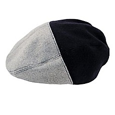 Rising Star™ Color Block Cabbie Hat in Grey/Blue