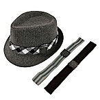 Rising Star™ Newborn Wool Fedora with Interchangeable Bands Set