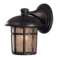 The Great Outdoors® by Minka Lavery® Cranston 1-Light Wall Mount Lantern in Dark Brown