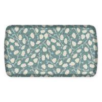 GelPro® Elite Decorator Organic 20-Inch x 36-Inch Kitchen Mat in Blue Mist