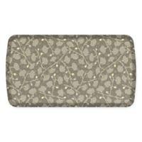 GelPro® Elite Decorator Organic 20-Inch x 36-Inch Kitchen Mat in Mushroom