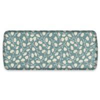 GelPro® Elite Decorator Organic 20-Inch x 48-Inch Kitchen Mat in Blue Mist