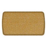 GelPro® Elite Decorator Confetti 20-Inch x 36-Inch Kitchen Mat in Golden Pear