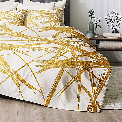 image of Deny Designs Khristian A Howell Strokes Comforter Set