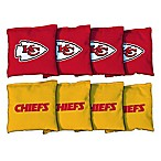 NFL Kansas City Chiefs 16 oz. Duck Cloth Cornhole Bean Bags (Set of 8)