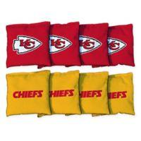 NFL Kansas City Chiefs 16 oz. Duck Cloth Cornhole Bean Bags (Set of 8)