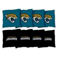 NFL Jacksonville Jaguars 16 oz. Duck Cloth Cornhole Bean Bags (Set of 8)