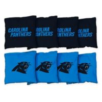 NFL Carolina Panthers 16 oz. Duck Cloth Cornhole Bean Bags (Set of 8)