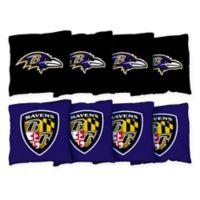 NFL Baltimore Ravens 16 oz. Duck Cloth Cornhole Bean Bags (Set of 8)