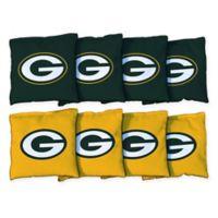 NFL Green Bay Packers 16 oz. Duck Cloth Cornhole Bean Bags (Set of 8)