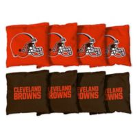 NFL Cleveland Browns 16 oz. Duck Cloth Cornhole Bean Bags (Set of 8)