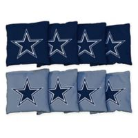 NFL Dallas Cowboys 16 oz. Duck Cloth Cornhole Bean Bags (Set of 8)