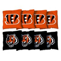NFL Cincinnati Bengals 16 oz. Duck Cloth Cornhole Bean Bags (Set of 8)
