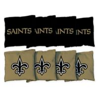 NFL New Orleans Saints 16 oz. Duck Cloth Cornhole Bean Bags (Set of 8)